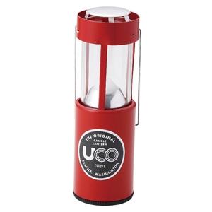 UCO(ユーコ) キャンドルランタン レッド 24351