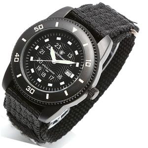 【送料無料】Smith&Wesson(スミス&ウェッソン) COMMANDO WATCH BLACK(コマンドー ウォッチ) ブラック sww-5982