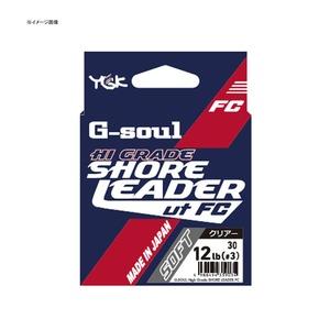 YGKよつあみ G-soul ハイグレード ショアリーダーFC ソフト 30m 3号/15.5lb クリアー