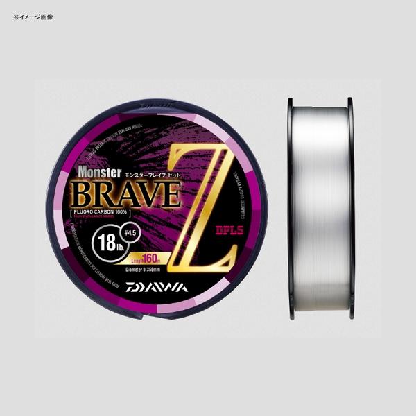 ダイワ(Daiwa) モンスター ブレイブ Z 160m 04625537 ブラックバス用フロロライン