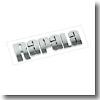 Rapala(ラパラ) 3D カー&ボート ディカル   メタリックシルバー