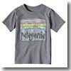 ベビー フィッツロイ スカイズ コットン/ポリ Tシャツ3TNHG(Narwhal Grey)