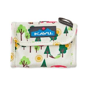 KAVU(カブー) ワリーウォレット 13x9cm Campsite 11863203127000