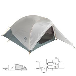 【送料無料】マウンテンハードウェア ゴーストUL2テント ワンサイズ 063(Grey Ice) OU9685