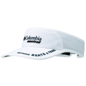Columbia Montrail(コロンビア モントレイル) ナッシングビーツアトレイル ランニングバイザーII ワンサイズ 100(White) XU0009
