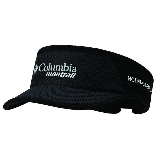 Columbia Montrail(コロンビア モントレイル) ナッシングビーツアトレイル ランニングバイザーIIライト XU0010 バイザー(メンズ&男女兼用)