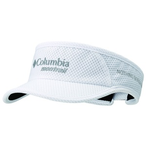 Columbia Montrail(コロンビア モントレイル) ナッシングビーツアトレイル ランニングバイザーIIライト ワンサイズ 100(White) XU0010
