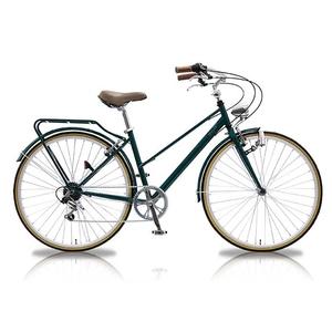 【送料無料】vittoria(ヴィットリア) 700Cシティーバイク6段変速 ORTER GR(グリーン) TR-CT701-GR