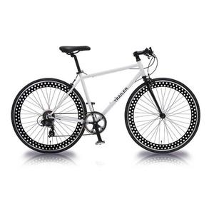 【送料無料】vittoria(ヴィットリア) 700C クロスバイク 6段変速 WH(ホワイト) TR-C7001-WH