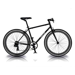 【送料無料】vittoria(ヴィットリア) 700C クロスバイク 6段変速 BK(ブラック) TR-C7001-BK