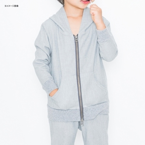 【送料無料】DEEPERS WEAR(ディーパーズウエア) ONE SWING PARKA KIDS S2 HEATHER GRAY OS150006