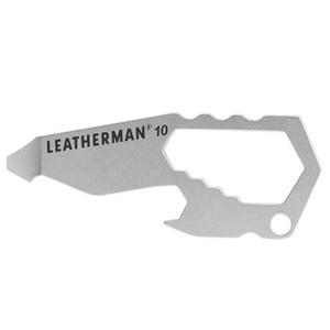 LEATHERMAN(レザーマン) TheNumber#10 (正規輸入代理店ハイマウント) レザーマンプレミアムカード付 約63mm(収納時) 72136
