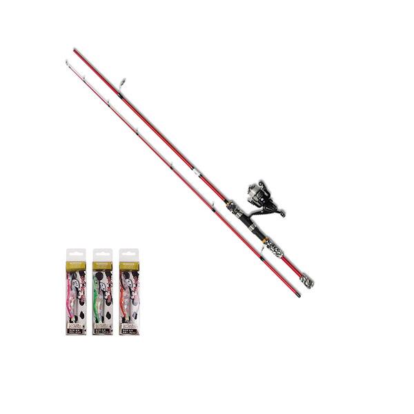 OGK(大阪漁具) 初めてのエギング入門セット 8.0ft HJMENS80 8フィート以上