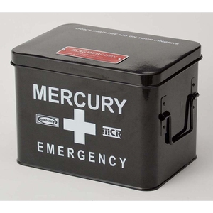 MERCURY(マーキュリー) エマージェンシーボックス MEBUEBBK 応急処置用品