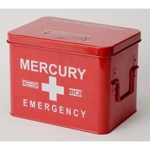 MERCURY(マーキュリー) エマージェンシーボックス レッド MEBUEBRD