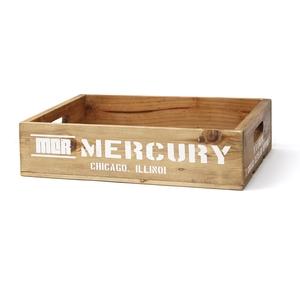MERCURY(マーキュリー) リサイクルウッドクレート ナチュラルホワイト MEREWCNW