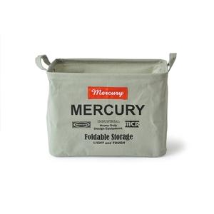 MERCURY(マーキュリー) キャンバス レクタングルボックス M グレー MECARBMG