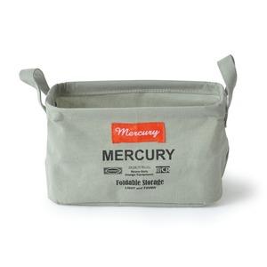 MERCURY(マーキュリー) キャンバス レクタングルボックス S グレー MECARBSG