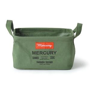 MERCURY(マーキュリー) キャンバス レクタングルボックス S カーキ MECARBSK