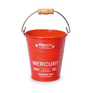 MERCURY(マーキュリー) ブリキミニバケツ レッド MEBUMBRD
