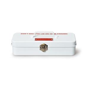 MERCURY(マーキュリー) ブリキミニツールボックス ホワイト MEBUMTBW