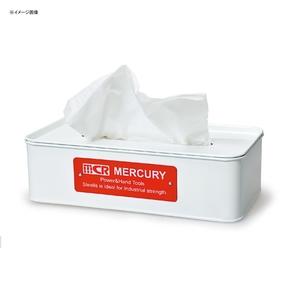 MERCURY(マーキュリー) ブリキティッシュボックス ホワイト MEBUTBWH