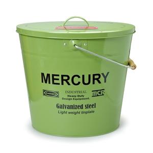 MERCURY(マーキュリー) ブリキバケツ オーバルフタツキ MEBUBOKH