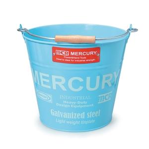 MERCURY(マーキュリー) ブリキバケツ レギュラー ブルー MEBUBRBL