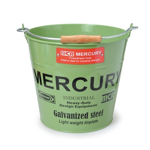 MERCURY(マーキュリー) ブリキバケツ レギュラー カーキ MEBUBRKH