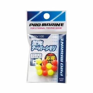 プロマリン(PRO MARINE) 蛍光テーパーシモリ 中 AGV100
