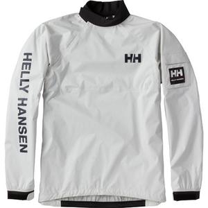 【送料無料】HELLY HANSEN(ヘリーハンセン) HH11703 TEAM SMOCK TOP 2 S W(ホワイト)