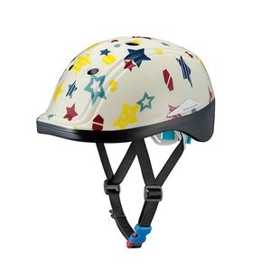 OGK(オージーケー) DUCK (ダック) 子供ヘルメット 49-54cm ハッピースターアイボリー 20601242