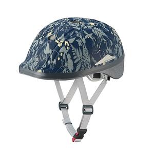 OGK(オージーケー) DUCK InRed(ダック インレッド) 子供ヘルメット ボタニカルネイビー 20601234