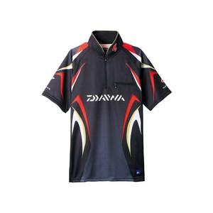 ダイワ(Daiwa) DE-7107 スペシャル アイスドライ ジップアップ半袖メッシュシャツ 04517954 フィッシングシャツ
