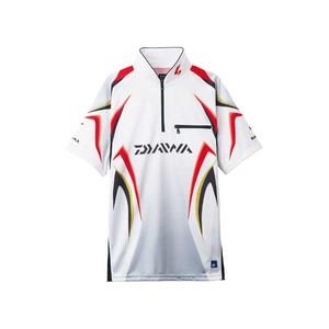 ダイワ(Daiwa) DE-7107 スペシャル アイスドライ ジップアップ半袖メッシュシャツ 04517963 フィッシングシャツ