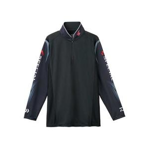 ダイワ(Daiwa) DE-7207 スペシャル ウィックセンサー ジップアップ長袖メッシュシャツ 2XL ブラック 04517974