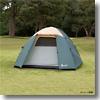 BUNDOK(バンドック) ドーム型テント5 UV   グリーン
