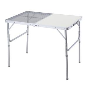BUNDOK(バンドック) ハーフメッシュテーブル 90 BD-235 バーベキューテーブル