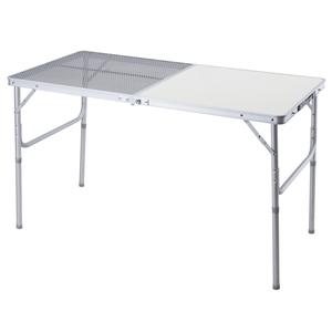 BUNDOK(バンドック)ハーフメッシュテーブル 120