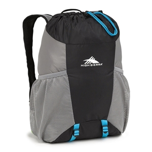 HIGH SIERRA(ハイ シェラ) 15L PACK IN A BOTTLE(15L パックインボトル) 15L BLACKxCHARCOALxPOOL 639074415