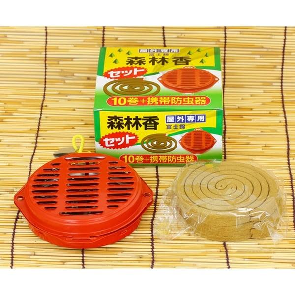 児玉兄弟商会(コダマ) 森林香10巻 携帯防虫器セット 防虫、殺虫用品