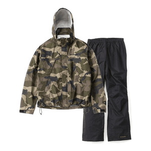 Simpson Sanctuary Patterned Rainsuit Men's L 365(Sage Camo)