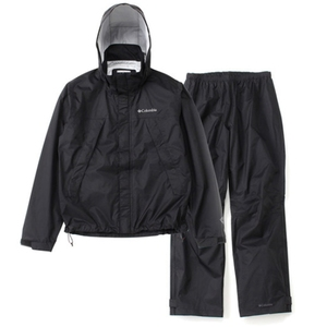 【送料無料】Columbia(コロンビア) Simpson Sanctuary Rainsuit Men's S 010(Black) PM0124