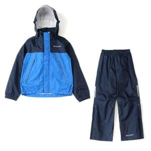 Columbia(コロンビア) Simpson Sanctuary Youth Rainsuit Kid's S 425(Columbia Navy) PY0072
