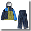 Simpson Sanctuary Youth Rainsuit Kid's S 431(Hyper Blue Multi)
