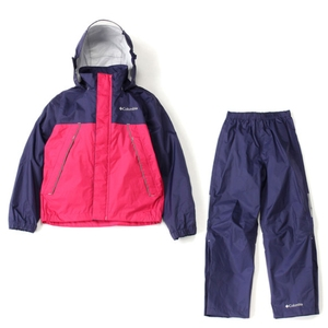【送料無料】Columbia(コロンビア) Simpson Sanctuary Youth Rainsuit Kid's S 527(Deep Purple) PY0072