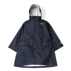 【送料無料】Columbia(コロンビア) Spey Pines Youth Poncho Kid's S 425(Columbia Navy Dot) PY1012