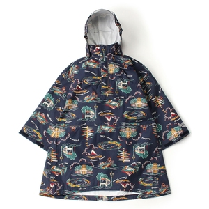 【送料無料】Columbia(コロンビア) Spey Pines Youth Poncho Kid's S 464(Collegiate Navy) PY1012