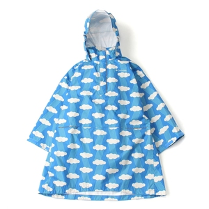 【送料無料】Columbia(コロンビア) Spey Pines Youth Poncho Kid's M 485(Harbor Blue Pattern) PY1012