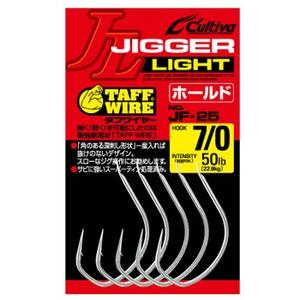オーナー針 ジガーライト ホールド JF-25 7/0号 11759